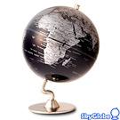 5吋深藍色金屬底座地球儀(英文版) 11