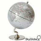 5吋銀色時尚地球儀(英文版) 8