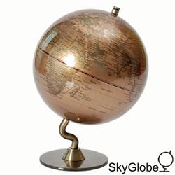 5吋金色時尚地球儀(英文版)