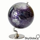 5吋深紫色金屬底座地球儀(英文版)