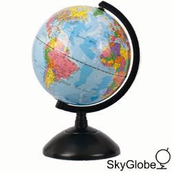 8吋發光塑膠底座地球儀