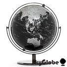 10吋精緻黑色360度旋轉地球儀(英文版) 11