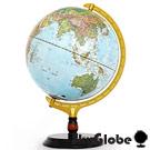 12吋地形行政木質地球儀(中英文對照)(附燈) 3
