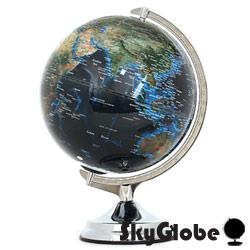 12吋地形海溝人口分佈地球儀(英文版)(附燈) thumb