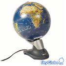 12吋衛星原貌自轉立體地球儀