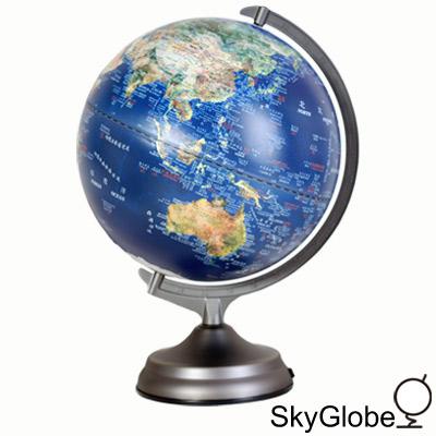 12吋衛星觸控三段式立體地球儀