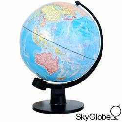 12吋塑膠底座地球儀